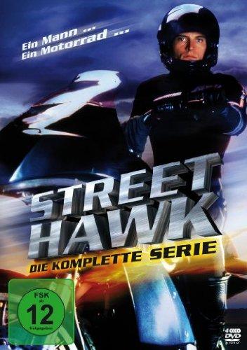 Street Hawk - Die komplette Serie [4 DVDs] - Tv-serien-hawk