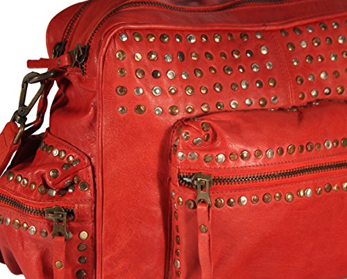 josual, Borsa bowling donna rosso rot rot