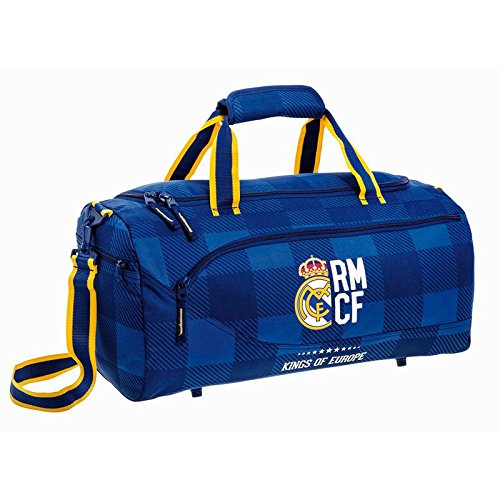 SAFTA-Bolsa-deporte-Real-Madrid-Blue-50cm