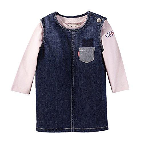 Levi's Kids Baby-Mädchen Set Dressy Bekleidungsset, Mehrfarbig (Assortiment 99), 74 (Herstellergröße: 12M) Cut Snap