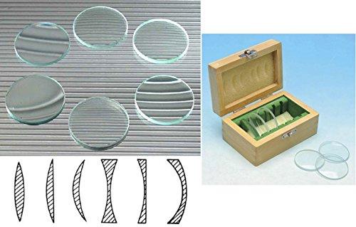 educational-demonstration-lens-set-6-x-50mm-concave-convex-double-plano-meniscus-educational-lenses-