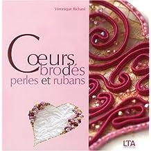 Coeurs Brodés Perles et Rubans