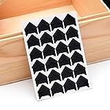 5Blatt 120Foto Ecken selbstklebend Foto Montage Aufkleber Papier Ecke Aufkleber für Scrapbooking Album Milchprodukte Free Size Schwarz
