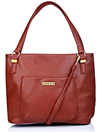 Caprese Andrea Women's Tote Bag (Burgundy)
