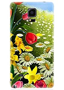 Spygen Premium Quality Designer Printed 3D Lightweight Slim Matte Finish Hard Case Back Cover For Samsung Galaxy Note 4