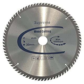 TCT Supreme High Performance Circular Wood Saw Blade 190mm x 30mm Bore x 48 Teeth