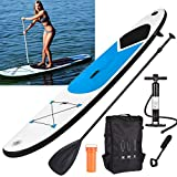 Best Paddle Boards - GEEZY Inflatable 305 SUP Surf Board with Adjustable Review