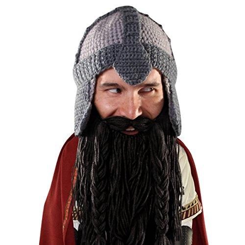 Beard Head Bartmütze – Zwerg-Krieger Bartmütze – Helmmütze -