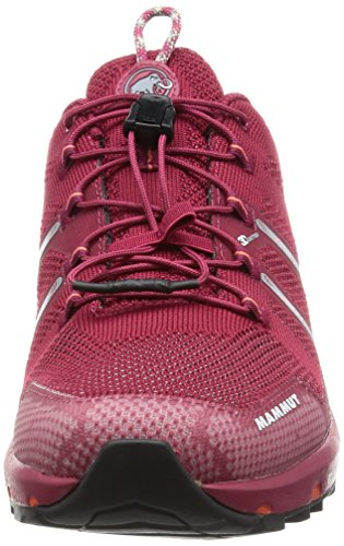 Mammut T Aegility Low Women (Backpacking/Hiking Footwear) dark magenta-neutral grey