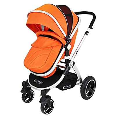 iSafe Baby Pram System 2in1 - Orange