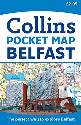 Belfast plano callejero 1:10.000. Collins (Maps) por VV.AA.