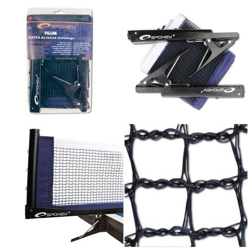 Spokey Tischtennis Netz Garnitur komplett mit Klemme, Spannvorrichtung etc.