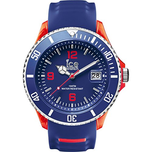 Ice-Watch - ICE sporty Blue Red - Montre bleue pour homme avec bracelet en silicone - 001453 (Medium)