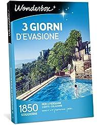 WONDERBOX- Cofanetto Regalo per Coppia- 3 Giorni D'EVASIONE - 1850 SOGGIORNI per 2 Persone