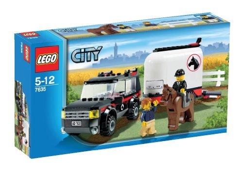 Imagen principal de LEGO City 7635 - Transporte de caballos [versión en inglés]