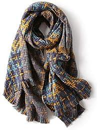 zm Ms. Sciarpa Autunno E Inverno Blended Sciarpa di Cachemire Stile Europeo  E Americano Classic fb972646f149