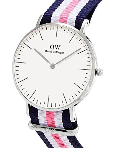 dd8d8aa38d8b Barato Daniel Wellington - Reloj analógico para mujer de nailon ...