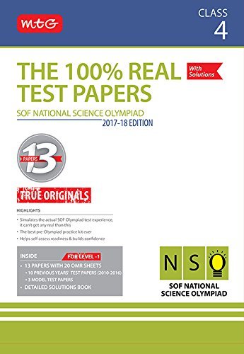The 100% Real Test Papers (NSO) Class 4