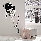 Csyxmp Sexy Nue Fille Japonaise Geisha Femme Vinyle Sticker Home Decor Art Murale Stickers Muraux Removable57 * 91 Cm