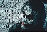 #4: LOOK DECOR batman the joker quotes Poster for room Inspiring design collection quotes and messages posters. posters for boys and girls Wall decals for home and office poster for study room gym poster motivational messages funny funky cool captions and sayings on your door or wall Design.