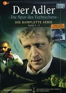 Der Adler Die Spur des Verbrechens, Die komplette Serie Staffel 1 3 inklusive Soundtrack [13 DVDs]