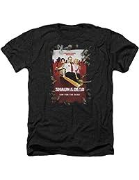 SHAUN OF THE DEAD - T-shirt - Manches Courtes - Opaque - Homme noir noir