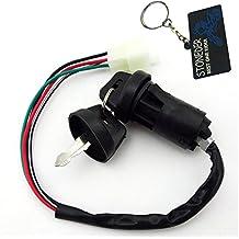 stoneder llave interruptor 4pines cable para 50cc 70cc 90cc 110cc 125cc Chino Quad 4wheeler ATV Go Kart