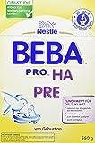 Nestlé Beba Pro Ha Pre, Babymilch zum Zu füttern für Säuglinge, 6er Pack (6 x 550 g)