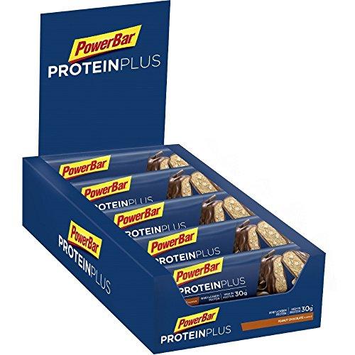 PowerBar Protein Plus 33% Eiweiß Riegel - Peanut Chocolate (10x90g) (Protein Plus Erdnussbutter)