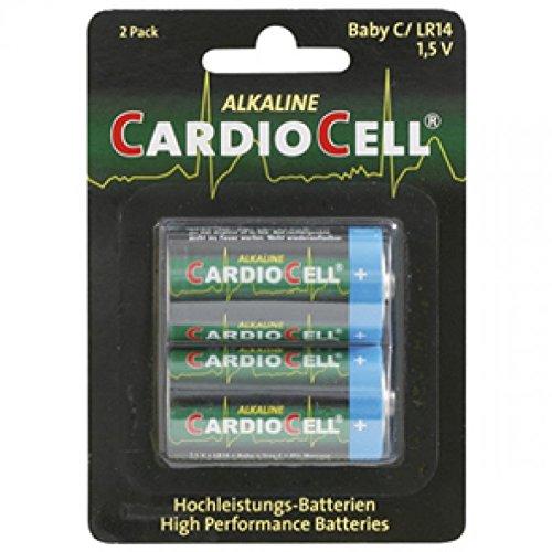 Lot de 2 Piles Cardiocell Baby C-LR14