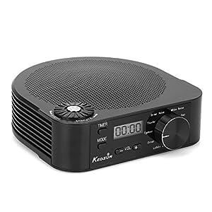 Generic Kamera-Schlaf, Sound-Therapie Gerät zu Lärm weiß, fördern Einschlafen, tragbar, 10Sons Sorten, Timer, Stromversorgung durch USB oder Akkus, White Noise Maschine