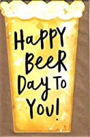 Let Someone Know You Are Thinking Of Them with this drôle card for any Occasion Happy Beer Day To You! Livré avec une enveloppe assortie. Dimensions : environ 180 x 120 mm. Inscription à l'intérieur : voir les images.