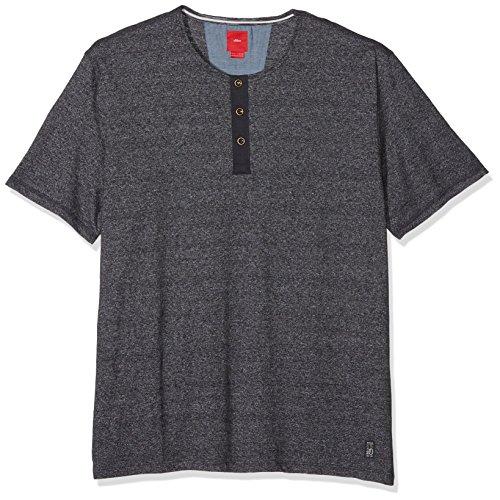 s.Oliver Big Size Herren T-Shirt 15707328846, Blau (Storn Blue Melange 59W0), XXXX-Large