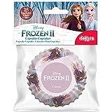 dekora 339262 Anna y Elsa Frozen 2 cupcake-kapslar 25 stycken, rosa