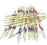 Land-Haus-Shop Tolles HOLZ Mikado Spiel, Mikadospiel XXL, 50cm, 41 Teilig aus Holz, Holzmikado (LHS)