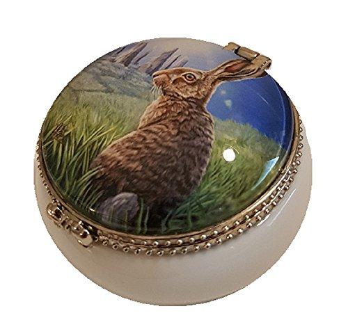 Preisvergleich Produktbild Lisa Parker – Solstice Hase – Schmuckkästchen aus Keramik Pillendose – Hase Box