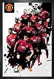 Fußball Poster und MDF-Rahmen - Manchester United, Players