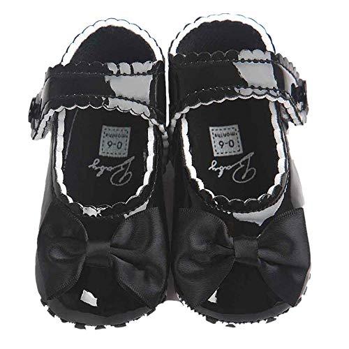 Trunlay Baby Schuhe Mädchen Bowknot Leater Schuhe Weiche Lauflernschuhe rutschfest Krabbelschuhe Turnschuhe Sneaker Neugeborene Schuhe 0-18 Monate