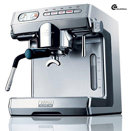 cgoldenwall kd-270s kommerziellen Double Pumpe Kaffeemaschine Italian Style Steam Espresso Maker Espresso Coffee, die sich Maschine 15bar Heiße Getränke, Cappuccino & Kaffeemaschine 2400W - weiß