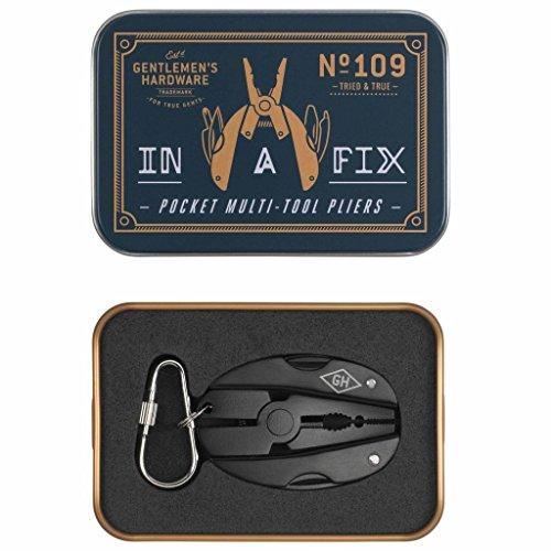 Gentlemen 's Hardware Pocket Multi Tool Zange–Grau - 2