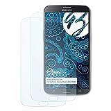 Bruni Schutzfolie für Samsung Galaxy Mega 6.3 (GT-i9205) Folie - 2 x glasklare Displayschutzfolie