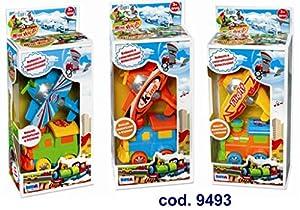 Rstoys - Ronchi Supe-Maxi Vehículos Avión y Locomotora,, 3.st9493