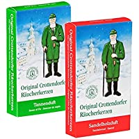 Crottendorfer Räucherkerzen Weihnachtsdüfte 2er Set Tannenduft + Sandelholz preisvergleich bei billige-tabletten.eu