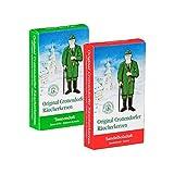 Crottendorfer Räucherkerzen Weihnachtsdüfte 2er Set Tannenduft + Sandelholz