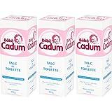 Bebe Cadum - Hygiène et Soin Bebe - Talc - Lot de 3 x 300 g