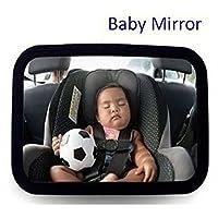 Christine seggiolini auto specchio si adatta a qualsiasi poggiatesta regolabile di per nascita di sicurezza in auto