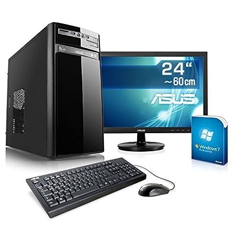 Entertain PC IDV A10-7850K-2 inkl. Windows 7 Professional - AMD Quad-Core A10-7850K 4x 3700 MHz, 16GB RAM, 120GB SSD, 1TB HDD, 300MBit/s WLAN, 10in1 CardReader - 24