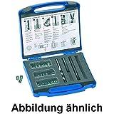 Juego de reparación de rosca DIN{8140} inox, sistema métrico M8 Helicoil