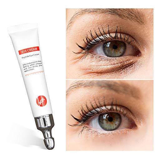 Straffende Peptid (ColorfulLaVie Peptid-Augencreme, Anti-dunkle Kreise Feine Linien Reparatur-Augencreme, Feuchtigkeitsspendende Anti-Aging Anti-Falten Augen Creme)