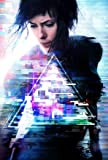 GHOST IN THE SHELL - Scarlett Johansson - US Textless Imported Movie Wall Poster Print - 30CM X 43CM Brand New